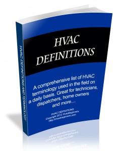 HVAC definitions - Hvac and refrigeration terminology