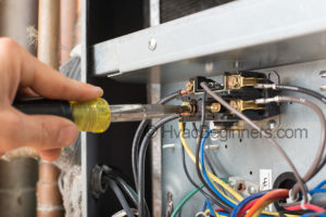hvac training contactor connections for compressor heat pump
