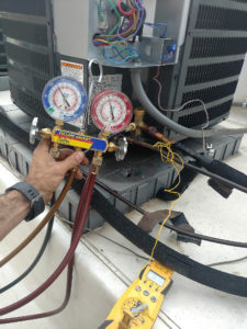 checking superheat on goodman condensing unit