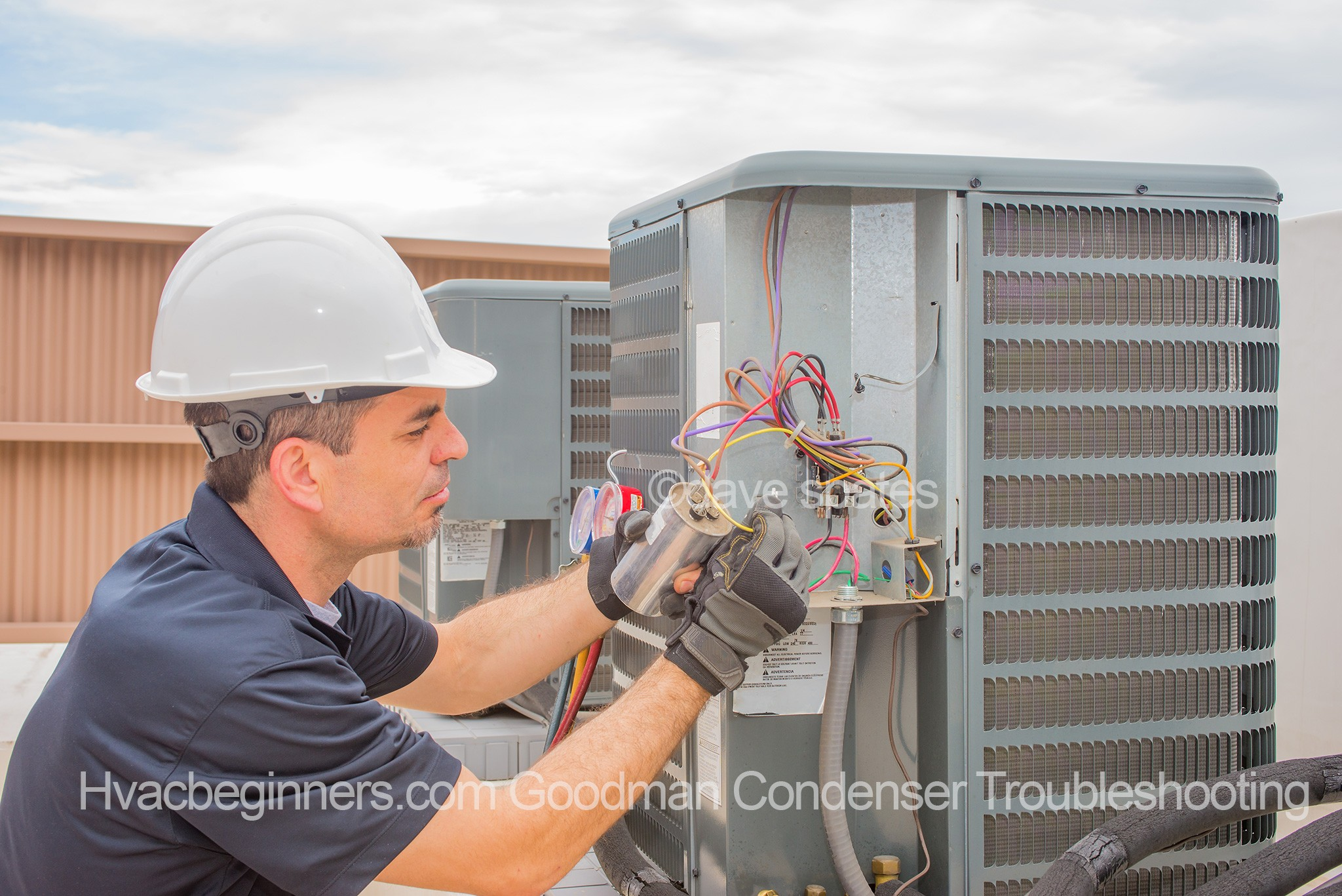 Story Time, Troubleshooting Goodman Condenser - HVAC