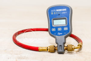 Digital vacuum gauge hvac tool