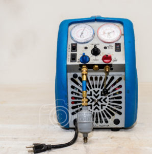 Hvac tool - R-22 and 410a recovery machine