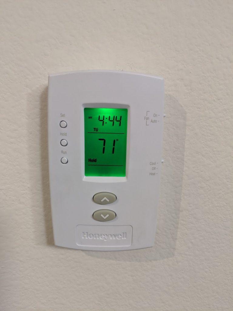 Older honeywell thermostat photos